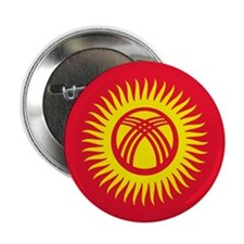 "Flag of Kyrgyzstan 2.25"" Button"