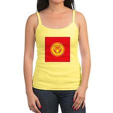 Flag of Kyrgyzstan Tank Top