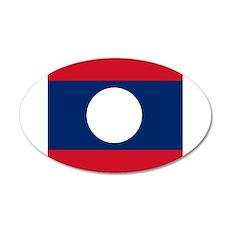 Flag of Laos Wall Sticker