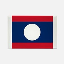 Flag of Laos Magnets