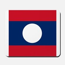 Flag of Laos Mousepad