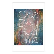 One Day At A Time Abstract Art Postcards (Package