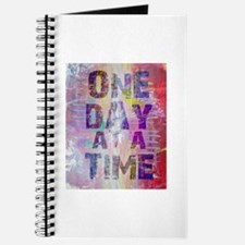 One Day At A Time Abstract Paint Colors Journal