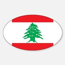 Flag of Lebanon Decal