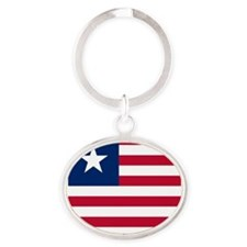 Flag of Liberia Keychains