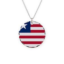Flag of Liberia Necklace