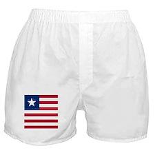 Flag of Liberia Boxer Shorts