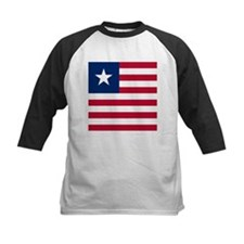 Flag of Liberia Baseball Jersey