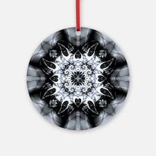 Perforator Pattern Round Ornament