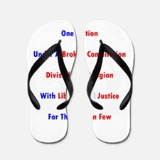 One Nation Under A Broken Constitution Flip Flops