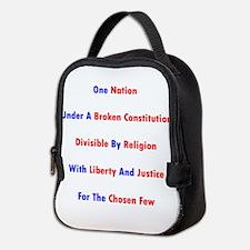 One Nation Under A Broken Constitution Neoprene Lu