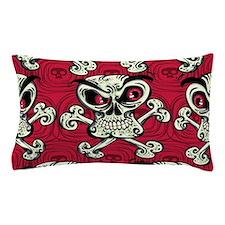 Crazy Skulls Pillow Case