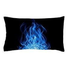 Blue Flames Pillow Case