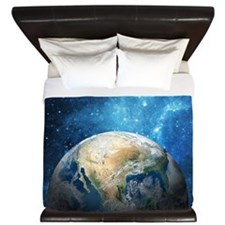 Planet Earth King Duvet