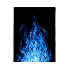 Blue Flames Twin Duvet