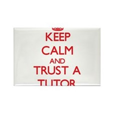 Keep Calm and Trust a Tutor Magnets