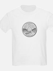Missouri State Quarter Kids T-Shirt