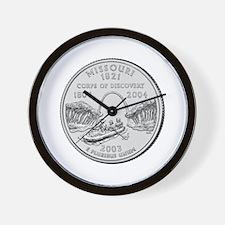 Missouri State Quarter Wall Clock