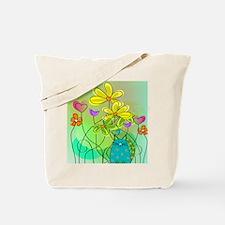 Spring Flowers 112 Tote Bag