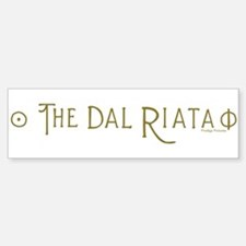 The Dal Riata Bumper Bumper Sticker