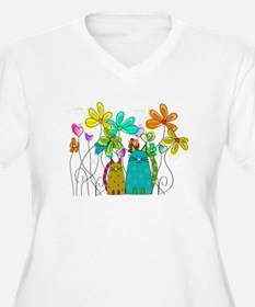Spring Flowers 14 Plus Size T-Shirt
