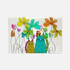 Spring Flowers 14 Magnets