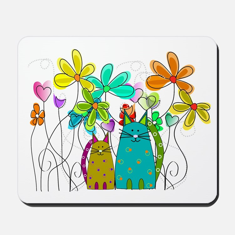 Spring Flowers 14 Mousepad