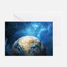 Planet Earth Greeting Cards