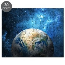Planet Earth Puzzle