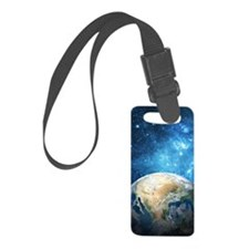 Planet Earth Luggage Tag