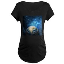 Planet Earth Maternity T-Shirt