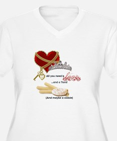 Love Tiaras and Cookies Plus Size T-Shirt