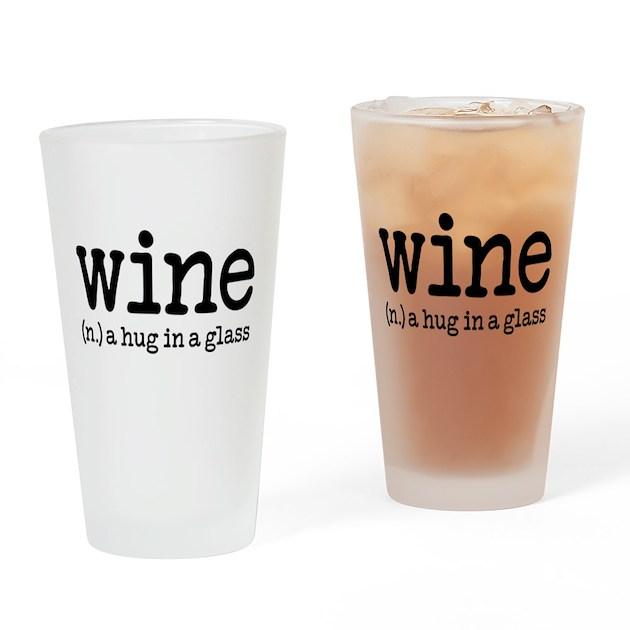 Wine Definition Drinking Glass By Robinlund