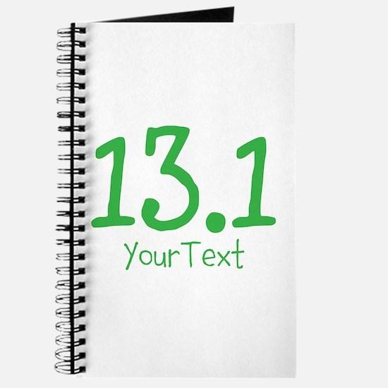 Customize GREEN 13.1 Journal