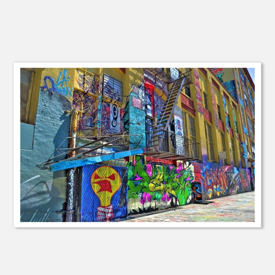 5Pointz Postcards (Package of 8)