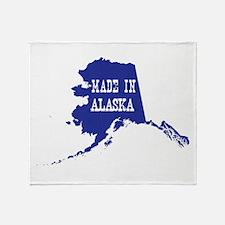 Made In Alaska Throw Blanket