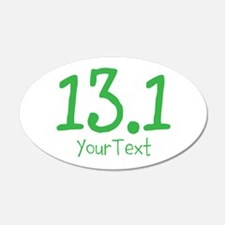 Customize GREEN 13.1 Wall Decal