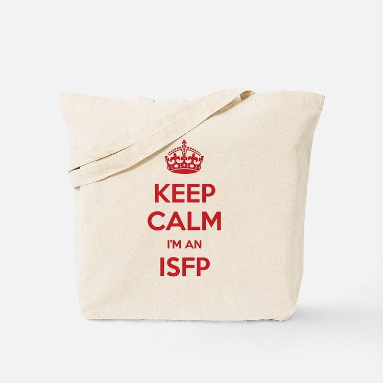 Keep Calm Im An ISFP Tote Bag