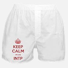 Keep Calm Im An INTP Boxer Shorts