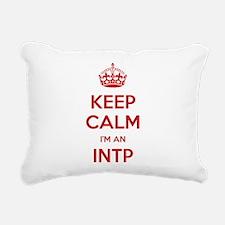 Keep Calm Im An INTP Rectangular Canvas Pillow