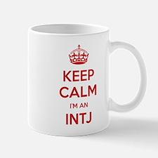 Keep Calm Im An INTJ Mugs