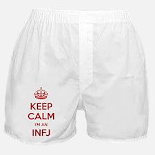 Keep Calm Im An INFJ Boxer Shorts