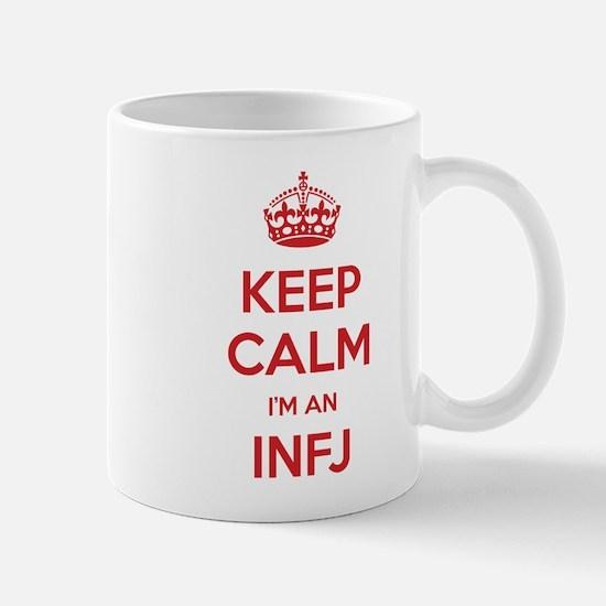 Keep Calm Im An INFJ Mugs