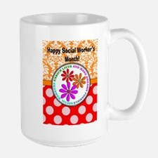 Happy Social worker month 4 Mugs