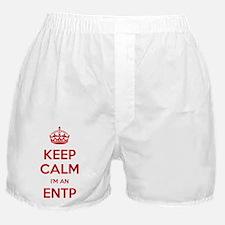 Keep Calm Im An ENTP Boxer Shorts