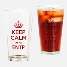 Keep Calm Im An ENTP Drinking Glass