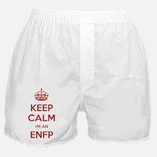 Keep Calm Im An ENFP Boxer Shorts