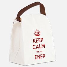 Keep Calm Im An ENFP Canvas Lunch Bag