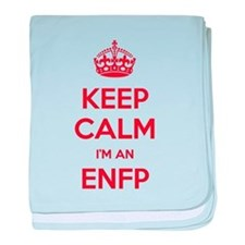 Keep Calm Im An ENFP baby blanket
