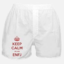 Keep Calm Im An ENFJ Boxer Shorts